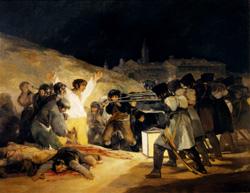 FRANCISCO GOYA 1808.El Tres de Mayo